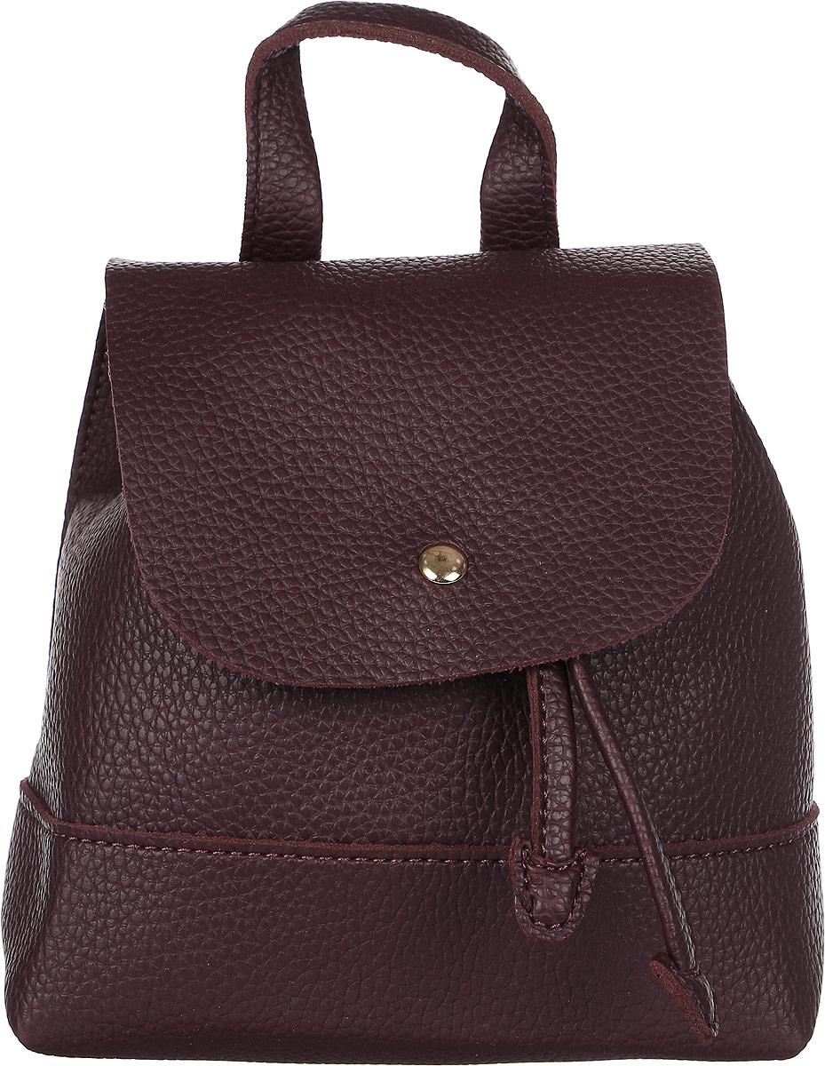 Рюкзак женский DDA, цвет: бордовый. DDA LB-1124BODDA LB-1124BO