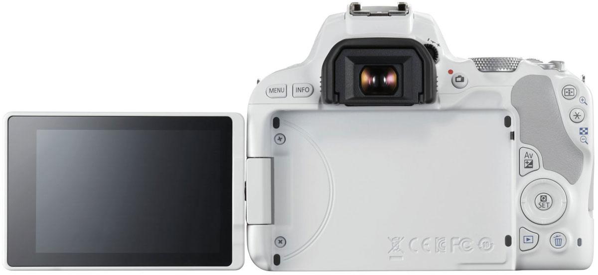 Canon EOS 200D Kit 18-55 IS STM, Whiteцифровая зеркальная фотокамера Canon
