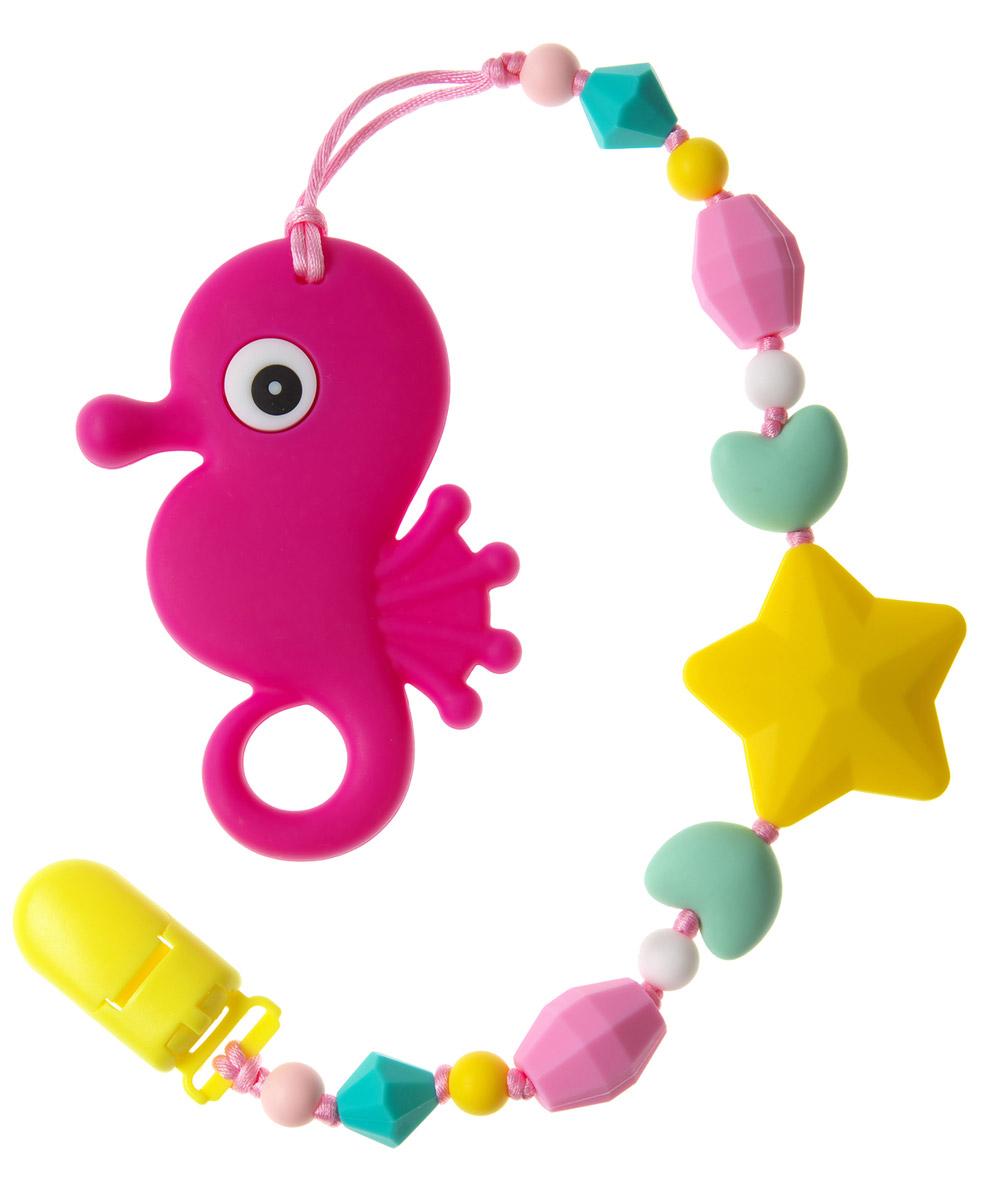 МАМидея Прорезыватель Океан цвет фуксия - Все для детского кормления