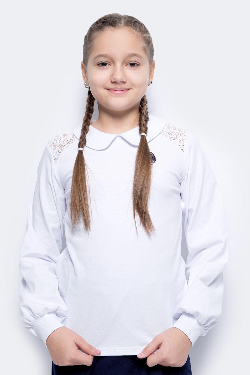 Блузка для девочки Nota Bene, цвет: белый. SJR270451_1. Размер 152