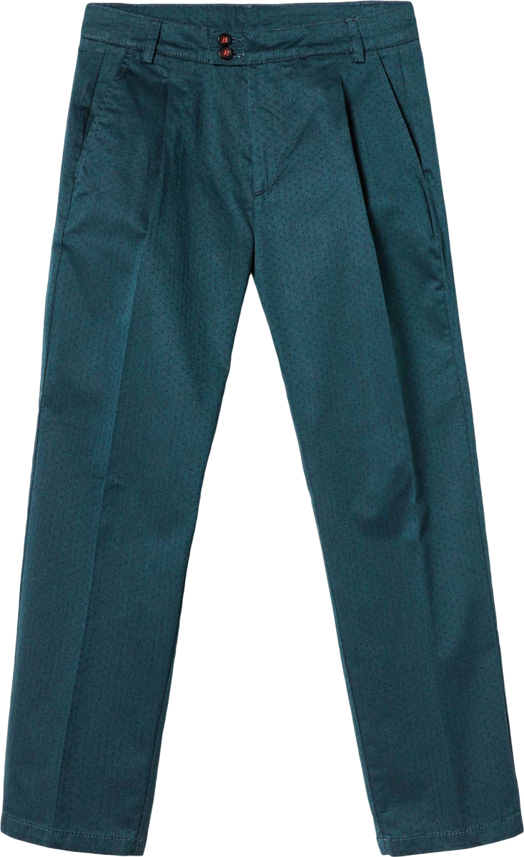 Брюки женские United Colors of Benetton, цвет: зеленый. 4DMP55624_88Y. Размер 46 (48)4DMP55624_88YЖенские брюки United Colors of Benetton станут модным дополнением к вашему гардеробу. Изготовленные из качественного материала, они мягкие и приятные на ощупь, не сковывают движения и позволяют коже дышать.Современный дизайн и расцветка делают эти брюки стильным предметом одежды, они отлично дополнят ваш образ и подчеркнут неповторимый стиль.