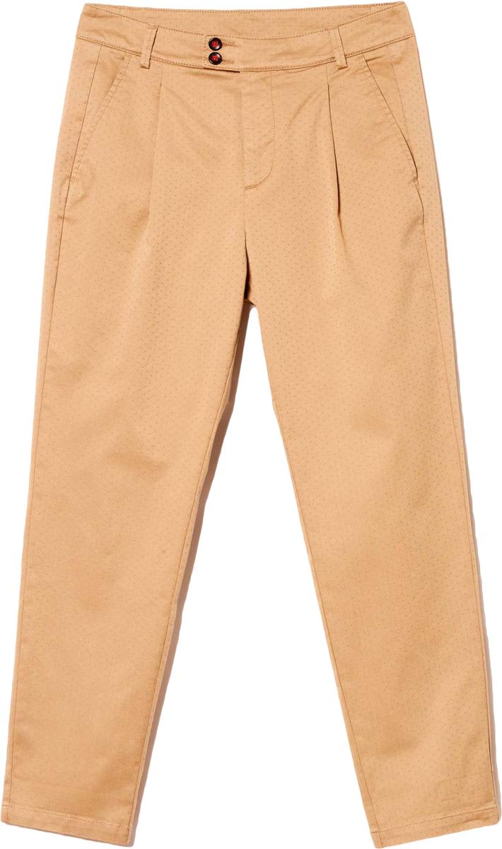 Брюки женские United Colors of Benetton, цвет: коричневый. 4DMP55624_7B5. Размер 42 (44)4DMP55624_7B5Женские брюки United Colors of Benetton станут модным дополнением к вашему гардеробу. Изготовленные из качественного материала, они мягкие и приятные на ощупь, не сковывают движения и позволяют коже дышать.Современный дизайн и расцветка делают эти брюки стильным предметом одежды, они отлично дополнят ваш образ и подчеркнут неповторимый стиль.