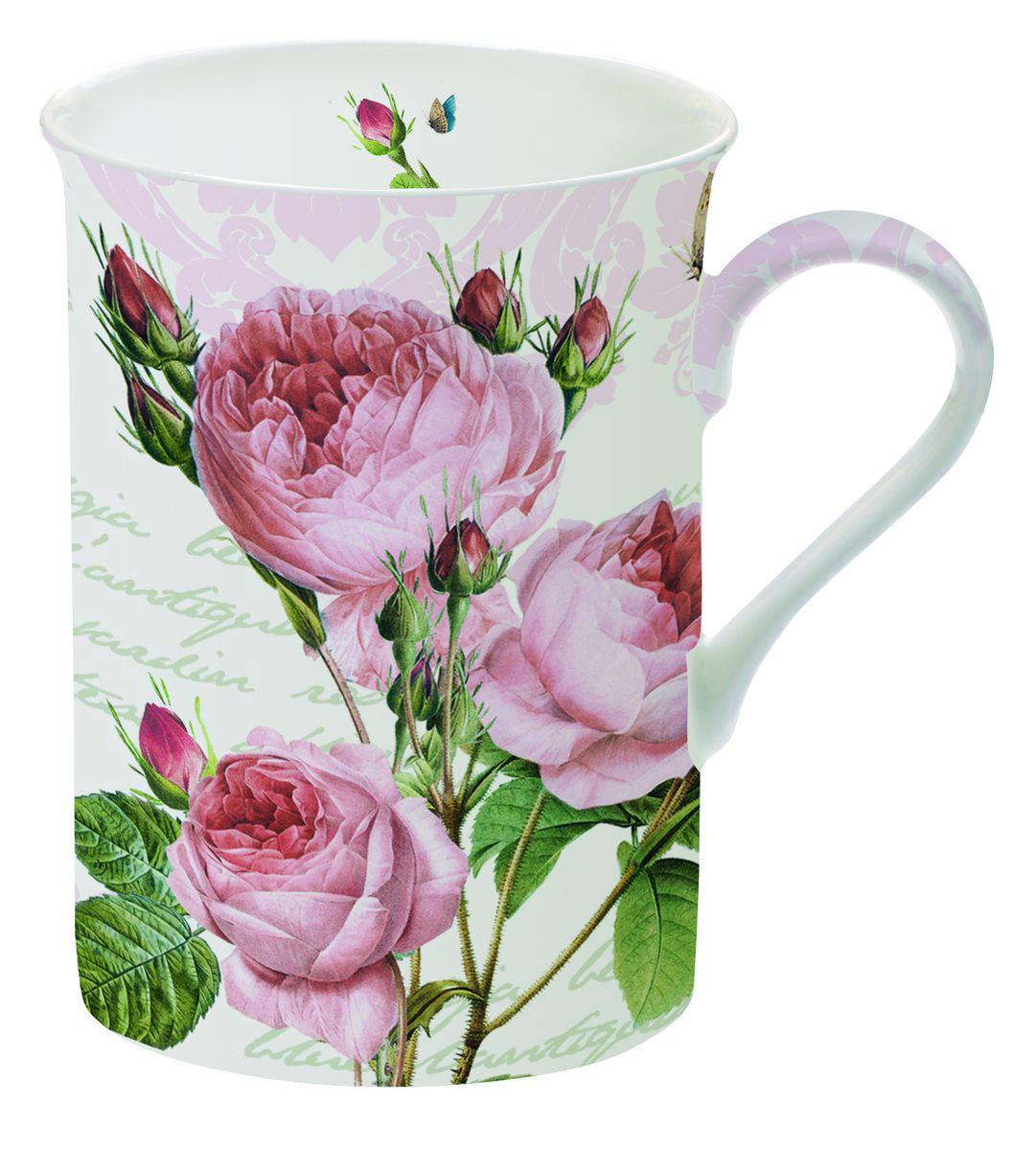 Кружка Nuova R2S Романтические розы, 250 мл329RMRКружка Nuova R2S Романтические розы изготовлена из высококачественного фарфора. Внешние стенки изделия оформлены цветочным изображением. Такая кружка станет неизменным атрибутом домашнего чаепития, а пить любимый напиток из нее будет еще приятнее.