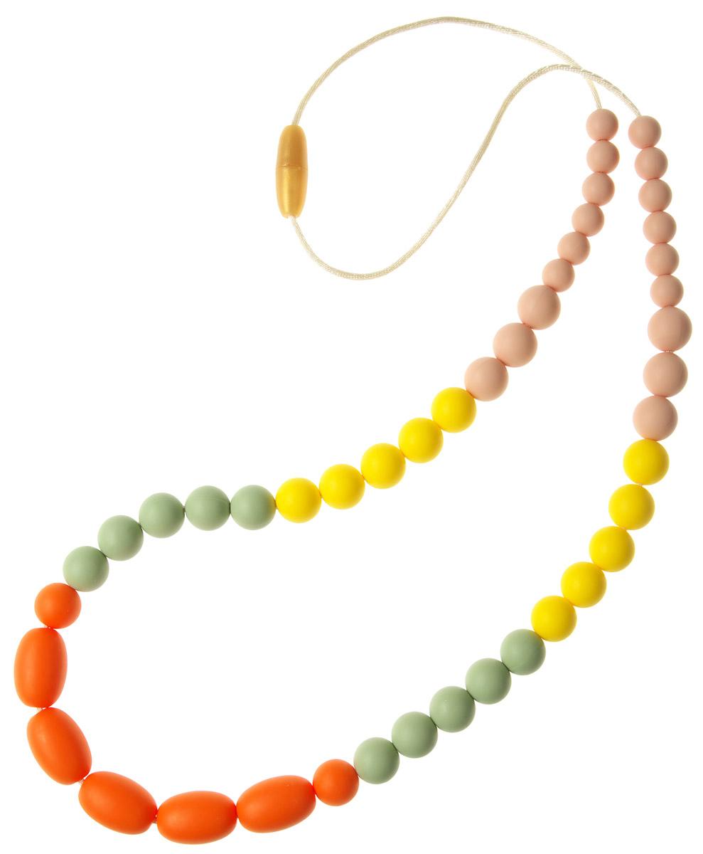 МАМидея Силиконовые бусы Венера цвет оранжевый - Все для детского кормления