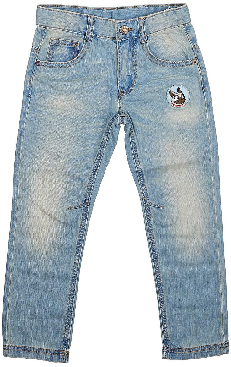 Джинсы для мальчика United Colors of Benetton, цвет: голубой. 4AYG572YP_902. Размер 904AYG572YP_902Стильные джинсы для мальчика идеально подойдут вашему ребенку для отдыха и прогулок. Изготовленные из качественного материала, они необычайно мягкие и приятные на ощупь, не сковывают движения и позволяют коже дышать, не раздражают даже самую нежную и чувствительную кожу ребенка, обеспечивая ему наибольший комфорт. Джинсы на талии застегиваются на металлическую пуговицу и имеют ширинку на застежке-молнии, имеются шлевки для ремня.