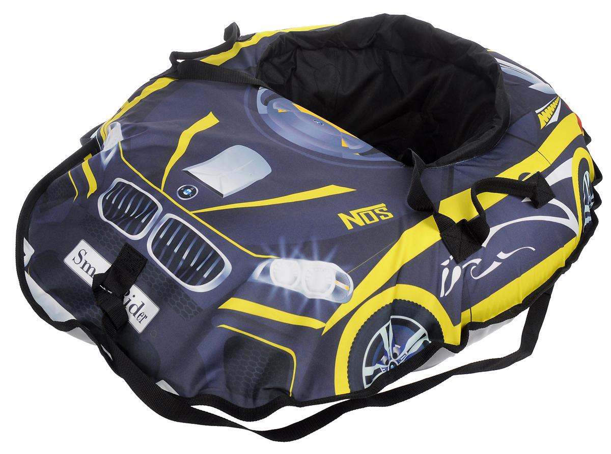 Small Rider Санки-тюбинг надувные Snow Cars 2 Mers цвет черный желтый