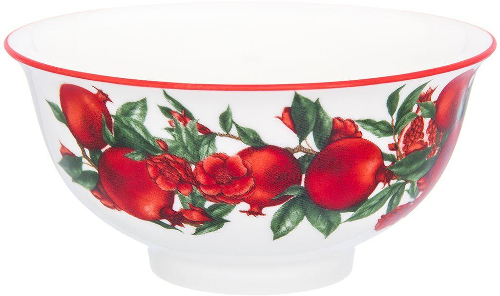 Салатник Elan Gallery Гранаты, 11,3 х 11,3 х 5,8 см101337Салатник оригинально украсит ваш стол или кухню. Впишется в любой интерьер, особенно на даче. Изделие имеет подарочную упаковку, поэтому станет желанным подарком для ваших близких! Объем 600 мл.