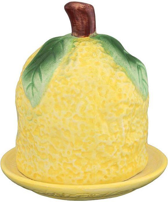 Подставка для лимона Elan Gallery Лимон, 11 х 11 х 13,5 см110852Оригинальная подставка для лимона Elan Gallery , выполненная из керамики, понравится любой хозяйке.Она украсит ваш стол и подойдет в качестве подарка для близких людей. Размер: 11 х 11 х 13,5 см.
