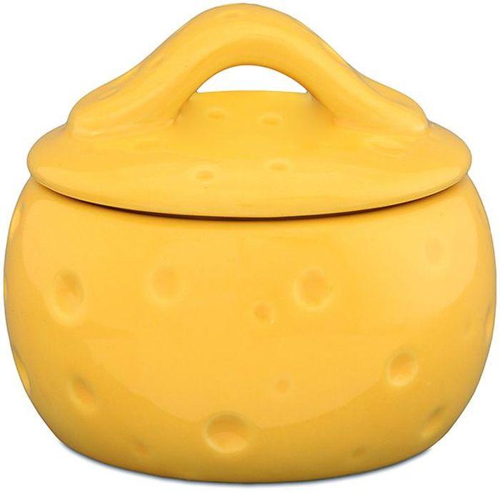 Банка для тертого сыра Elan Gallery Сыр, 10,5 х 10,5 х 9 см. 110853110853Банка для тертого сыра предохранит Ваши продукты от заветривания. Благодаря съемной силиконовой прокладке на крышке банка плотно закрывается. Изделие имеет подарочную упаковку, поэтому станет желанным подарком для ваших близких!
