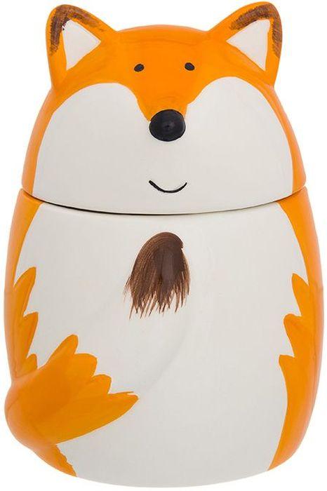 Горшочек для меда Elan Gallery Лиса, 470 мл110938Горшочек для меда в форме забавной лисы – лучший подарок для сладкоежки! Удобство в хранении и симпатичный дизайн. Изделие в цветной коробке. Объем 400 мл.