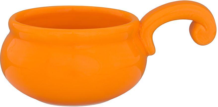Жюльенница-кокотница Elan Gallery, цвет: оранжевый, 15 х 10 х 6 см110940Жюльенница-кокотница изготовленная из жаропрочной керамики, предназначена для приготовления и подачи небольших порций мясных или овощных блюд, а также соусов, закусок и десертов.Керамическая посуда не только быстро нагревается, но и сохраняет тепло дольше, чем посуда из других материалов. Используйте это преимущество посуды и подавайте блюда к столу прямо в тех же емкостях, в которых вы их приготовили - блюда будут долго оставаться горячими.