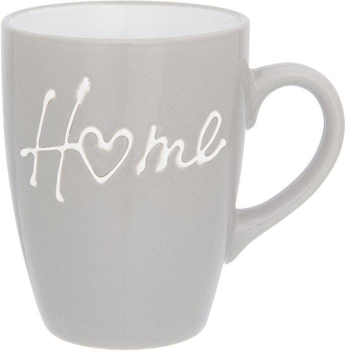 Кружка Elan Gallery Дом, цвет: серый, 330 мл028832_петух, курочкаКружка классической формы объемом 330 мл с удобной ручкой. Подходят для любых горячих и холодных напитков, чая, кофе, какао. Изделие имеет подарочную упаковку, поэтому станет желанным подарком для ваших близких!