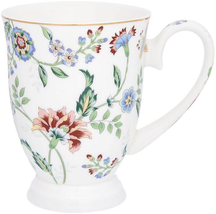 Кружка Elan Gallery Цветочный каприз, 300 мл181073Изысканный заварочный чайник украсит сервировку стола к чаепитию. Благодаря красивому утонченному дизайну и качеству исполнения он станет хорошим подарком друзьям и близким. Не рекомендуется применять абразивные моющие средства.