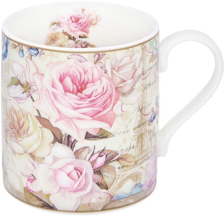 Кружка Elan Gallery Нежные розы, 250 млРП-9265-2372Трогательная кружка объемом 250 мл в нежных тонах в подарочной упаковке с ленточкой! Идеальный подарок для взрослых и детей.