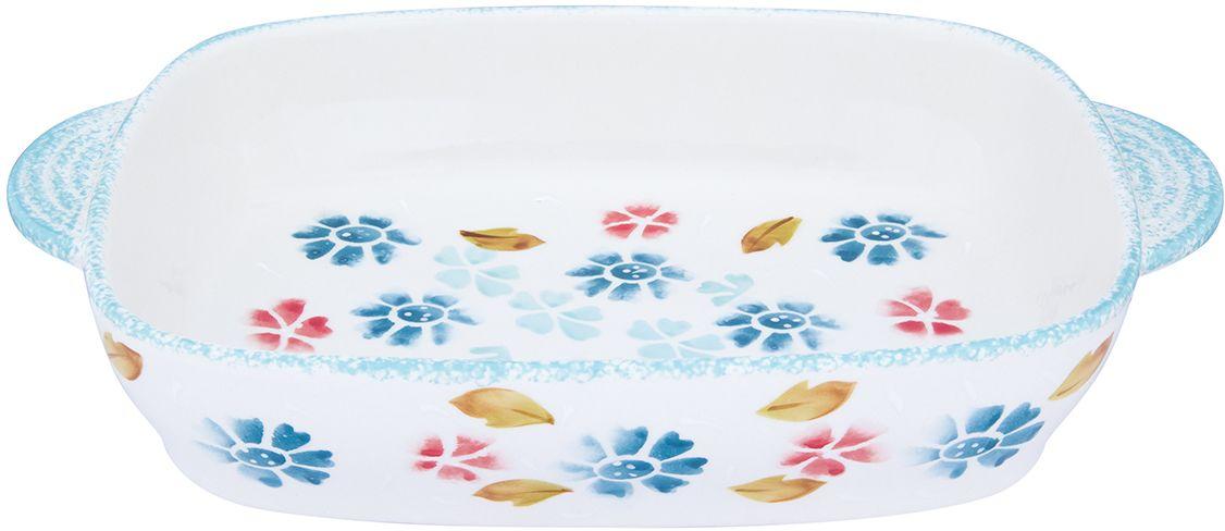 Блюдо для запекания и сервировки стола Elan Gallery  Васильковое настроение , 33 х 20 х 6 см - Посуда для приготовления