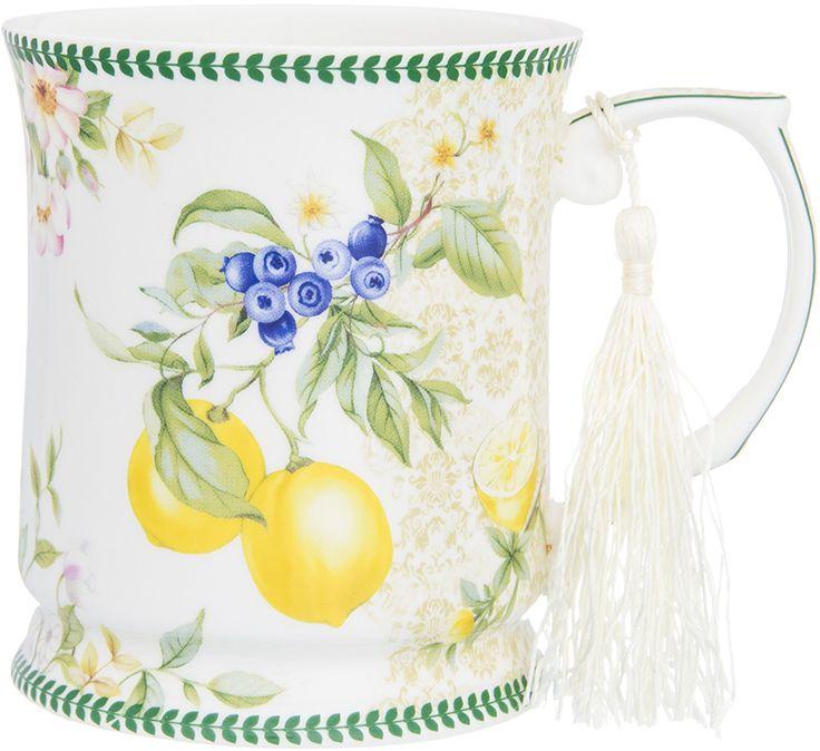 Кружка Elan Gallery Лимоны, 450 мл чайники заварочные elan gallery чайник дикая роза