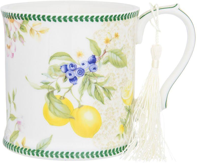 Кружка Elan Gallery Лимоны, 380 мл чайники заварочные elan gallery чайник белые розы