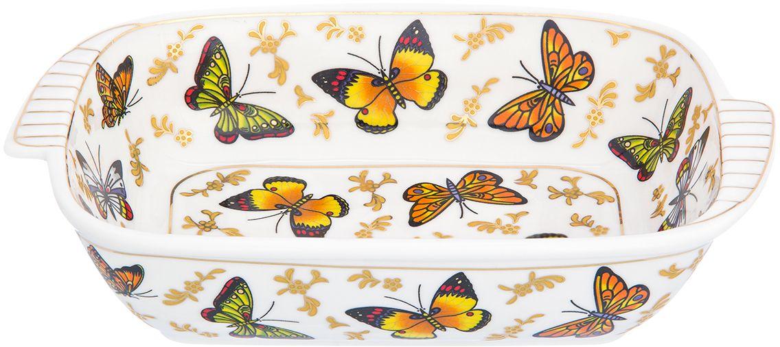 Шубница Elan Gallery Бабочки, 500 мл504187Яркая посуда подарит настроение и уют, привнесет разнообразие в приготовление ваших любимых блюд и сервировку семейного стола
