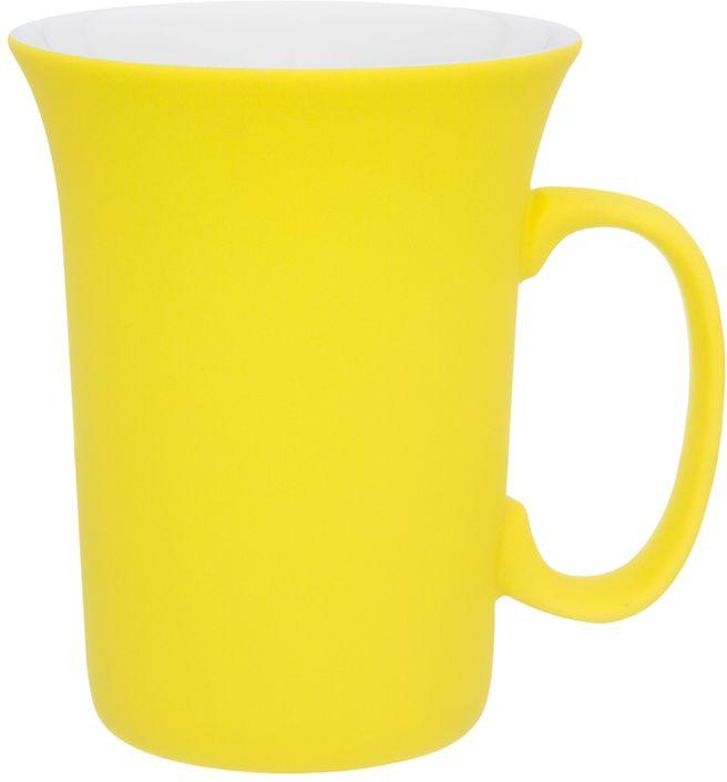 Кружка Elan Gallery Лимонная, с силиконовым покрытием, 300 мл260019Оригинальная кружка подойдет для чая, кофе и других напитков. Удобна в использовании благодаря устойчивой форме. Изделие имеет подарочную упаковку.