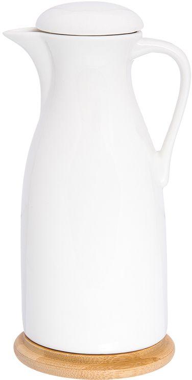 Бутылка для масла и уксуса Elan Gallery Айсберг, с крышкой, цвет: белый, 470 мл540184Стильная бутылка для жидкостей Elan Gallery Айсберг подойдет для хранения масел, соусов или уксуса. Эффектно впишется в любой интерьер. Размер: 9 х 9 х 19 см. Объем: 470 мл.