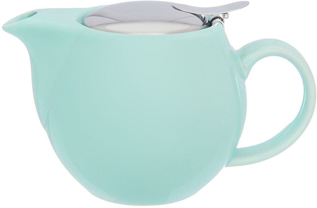 Чайник Elan Gallery Мятный, с ситом, 500 мл630024Изящный вместительный чайник объемом 550 мл удобной ручкой и широким носиком.В основании носика сделаны фильтрующие отверстия от попадания чаинок в чашку. Изделие имеет подарочную упаковку.