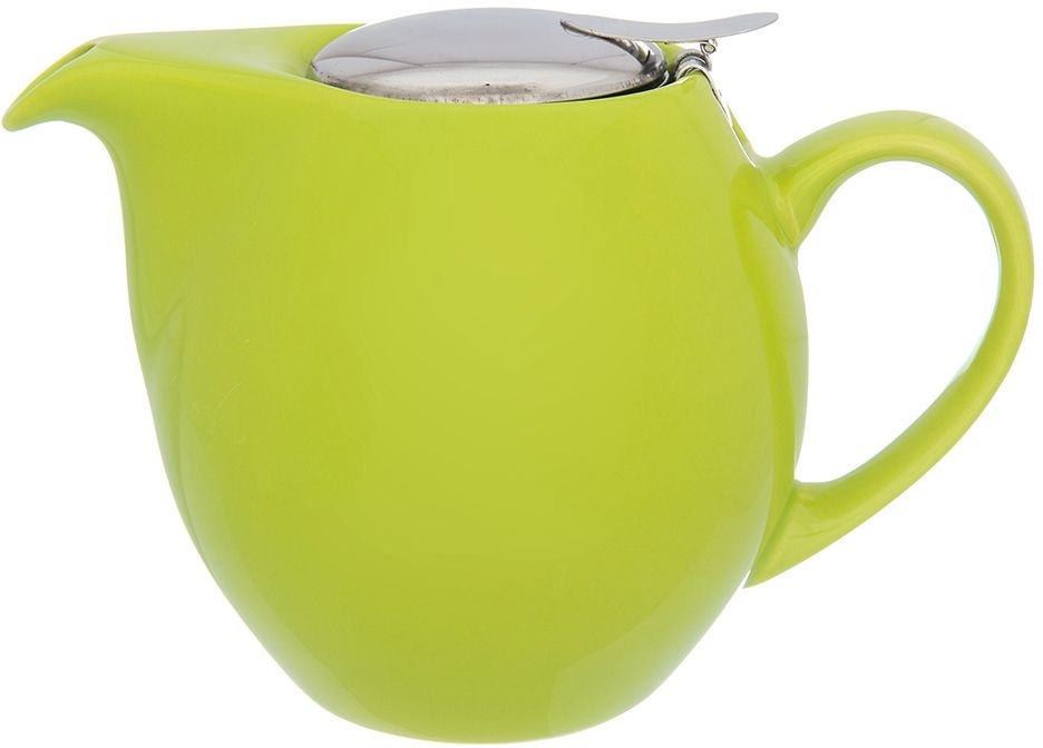 Чайник Elan Gallery Лаймовый, с ситом, 900 мл630033Изящный вместительный чайник объемом 800 мл удобной ручкой и широким носиком.В основании носика сделаны фильтрующие отверстия от попадания чаинок в чашку. Изделие имеет подарочную упаковку.