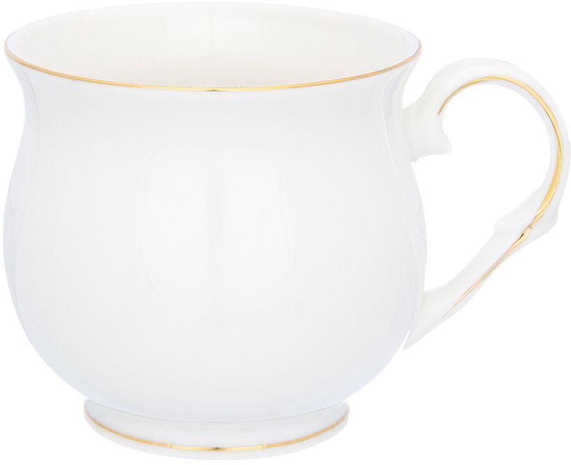 Кружка Elan Gallery Белоснежная долина. Бочонок, 480 мл730726Оригинальная кружка подойдет для чая, кофе и других напитков. Удобна в использовании благодаря устойчивой форме. Изделие имеет подарочную упаковку.