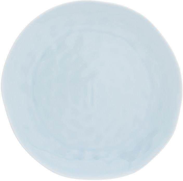 Тарелка для закуски Elan Gallery Морозное небо, 21,5 х 21,5 х 2 см760047Сервировочная тарелка позволит украсить ваш праздничный стол, особенно на даче.Яркие и веселые расцветки порадуют Вас на кухне. Изделие имеет подарочную упаковку, поэтому станет желанным подарком для ваших близких!