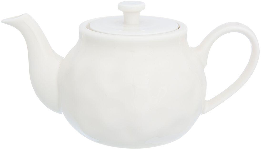 Чайник заварочный Elan Gallery Бежевый, 800 мл760057Изящный вместительный чайник объемом 800 мл с удобной ручкой и широким носиком.В основании носика имеются фильтрующие отверстия от попадания чаинок в чашку. Изделие имеет подарочную упаковку.