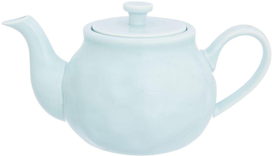 Чайник заварочный Elan Gallery Мятный, 800 мл760058Изящный вместительный чайник объемом 800 млс удобной ручкой и широким носиком. В основании носика имеются фильтрующие отверстия от попадания чаинок в чашку. Изделие имеет подарочную упаковку.