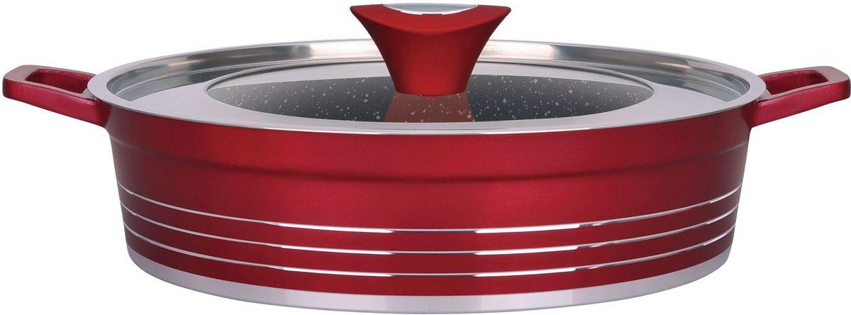 Сотейник Winner  Carmen  с крышкой, с мраморным покрытием, 4,5 л. WR-1336 - Посуда для приготовления