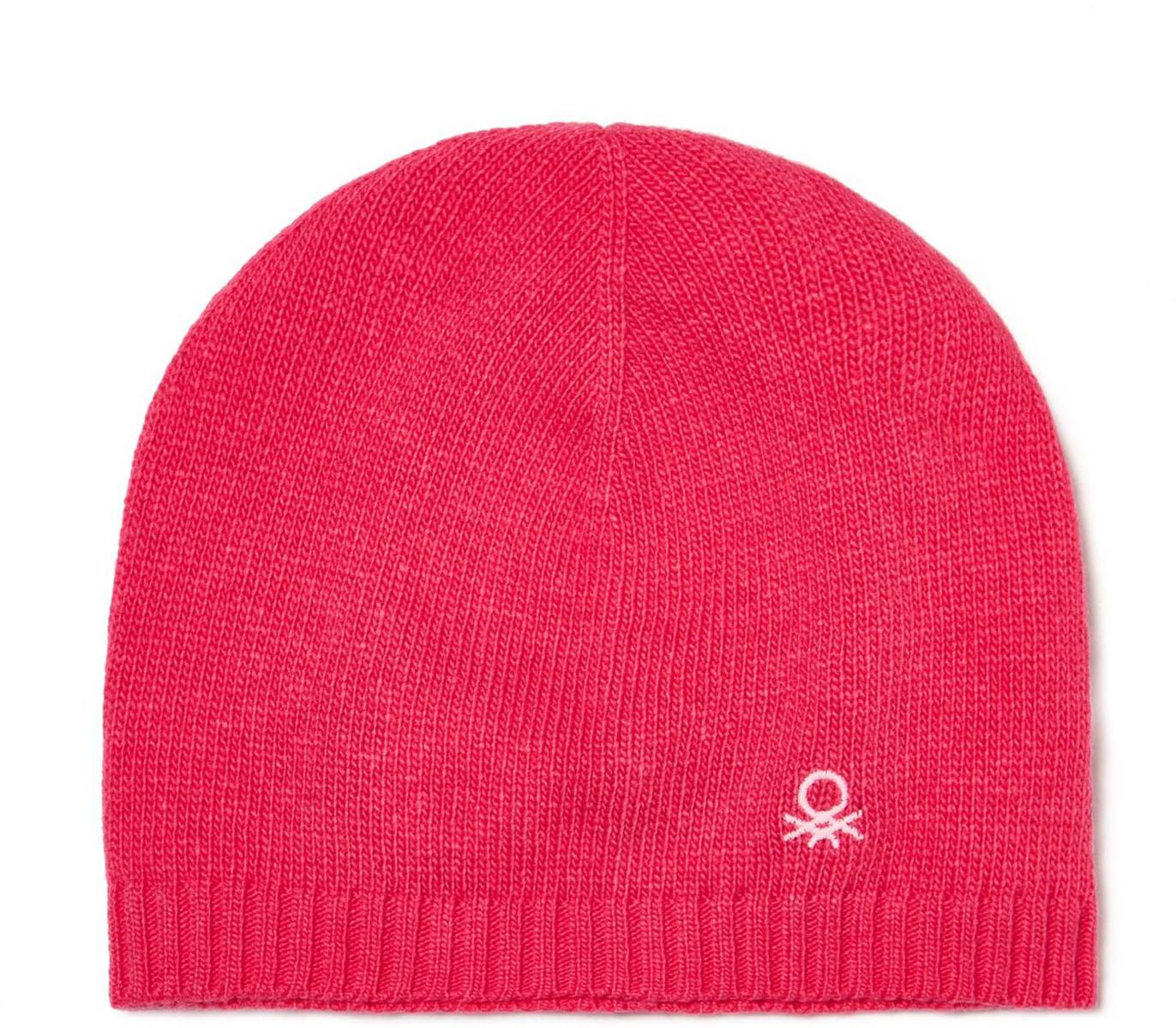 Шапка для мальчика United Colors of Benetton, цвет: розовый. 1232C0157_2J2. Размер 52/541232C0157_2J2Шапка для мальчика United Colors of Benetton выполнена из качественной пряжи. Такая шапка согреет вашего ребенка в холодное время года.Уважаемые клиенты!Размер, доступный для заказа, является обхватом головы.