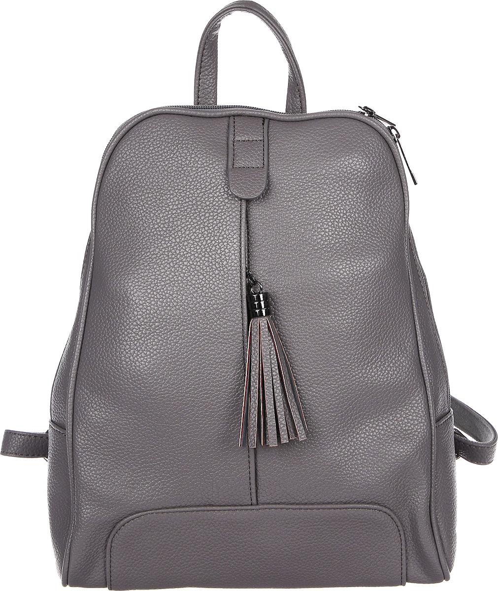 Рюкзак женский DDA, цвет: серый. DDA LB-2039GR17с6494-к14