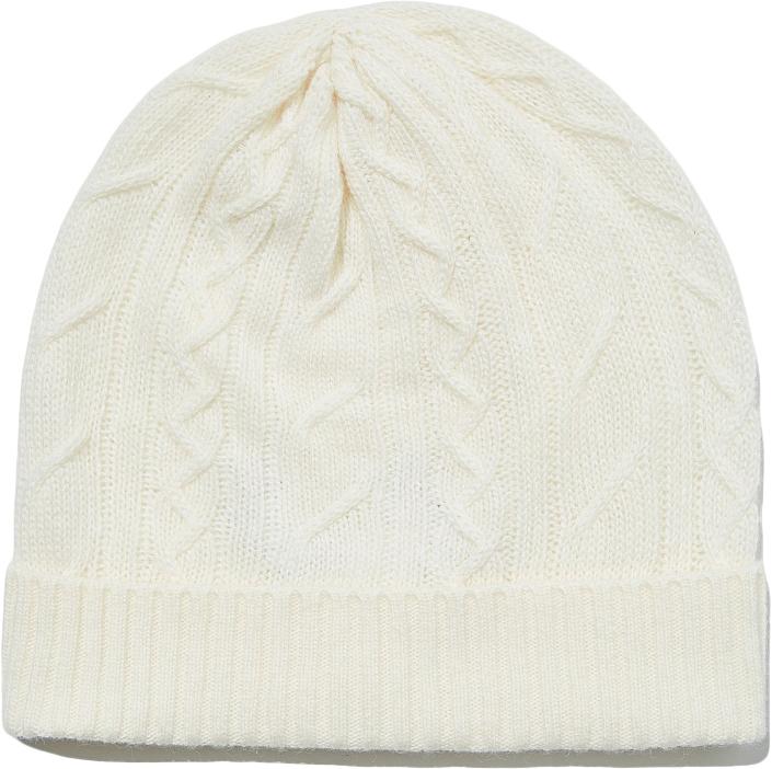 Шапка для девочек United Colors of Benetton, цвет: белый. 1232C0185_000. Размер 52/541232C0185_000