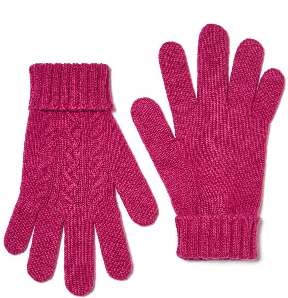 Перчатки для девочки United Colors of Benetton, цвет: розовый. 1232C0186_74Y. Размер 51232C0186_74YВязаные перчатки для девочки идеально подойдут вашей моднице для прогулок в прохладное время года. Изготовленные из нити смешанного состава, они мягкие и приятные на ощупь, позволяют коже дышать, не раздражают нежную кожу ребенка, обеспечивая наибольший комфорт, хорошо сохраняют тепло. Перчатки дополнены широкими манжетами, не стягивающими запястья и надежно фиксирующими их на руках.Такие комфортные перчатки позволят ребенку долго находиться на прогулке. Незаменимая вещь в холодную погоду!