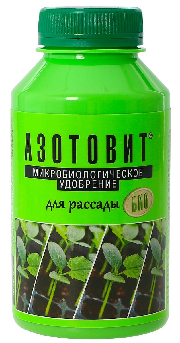 Удобрение микробиологическое Азотовит для рассады, 220 мл00-00000538Микробиологическое натуральное удобрение, обеспечивающее растение биологическим азотом. Увеличивает энергию прорастания,способствует дружным всходам, препятствует пожелтению листьев, способствует дружным всходам, обогащает почву полезной микрофлорой. Комплексное воздействие на растительный организм: оказывает стимулирующее влияние на развитие вегетативной систем растительного организма. повышает урожайность до 40%, обладает фунгицидными свойствами.
