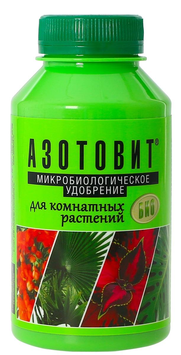 Удобрение микробиологическое Азотовит для комнатных растений, 220 мл00-00000540Экологически чистое жидкое удобрение на основе живых бактерий. обеспечивающее растение биологическим азотом. Способствует продолжительному периоду цветения растений, повышает интенсивность окраски цветов и листьев. Обогащает горшечный грунт полезной микрофлорой и предотвращает развитие грибковых заболеваний. Подходит в том числе и для балконных цветов. Обеспечивает растения естественными питательными веществам и оказывают воздействие на их рост и развитие.