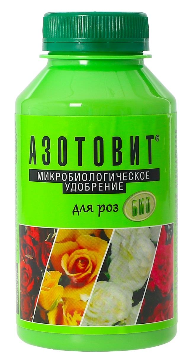 Удобрение микробиологическое Азотовит для роз, 220 мл00-00000541Экологически чистые жидкие удобрения на основе живых бактерий