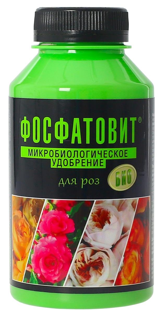 Удобрение микробиологическое Фосфатовит для роз, 220 мл00-00000545Экологически чистые жидкие удобрения на основе живых бактерий