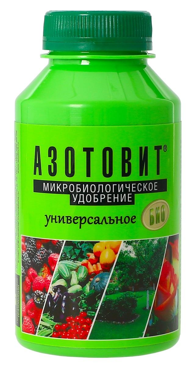 Удобрение микробиологическое Азотовит универсальный, 220 мл00-00000547Экологически чистые жидкие удобрения на основе живых бактерий
