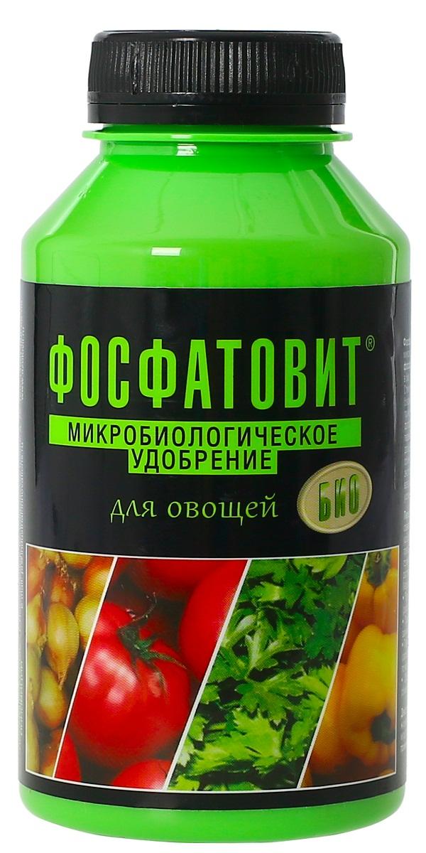 Удобрение микробиологическое Фосфатовит для овощей, 220 мл00-00000549Экологически чистые жидкие удобрения на основе живых бактерий