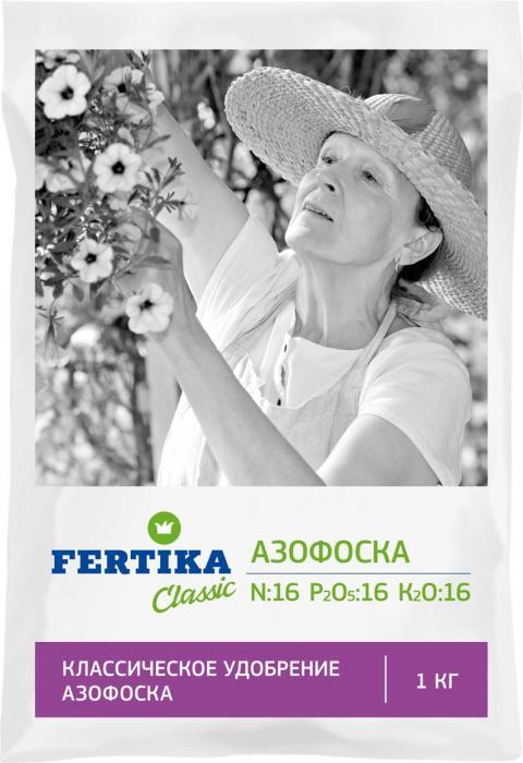 Удобрение Фертика Азофоска, 1 кгBi-fertika0060АЗОФОСКА (N–16%, P–16%, K–16%). Используется для основного (при перекапывании почвы весной или осенью), местного (в рядки, борозды или лунки) внесения, а также для подкормок в период вегетации растений. Универсальное сложное азотно-фосфорно-калийное удобрение. В состав удобрения входят три основных элемента питания растений в оптимальной для них пропорции. Эффективно для всех культур и на всех типах почв. Способствует ускорению созревания и повышению урожайности, повышает качество плодов, увеличивает срок их хранения.
