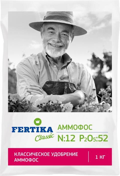 АММОФОС (N–12%, P2O5–52%). Наиболее эффективен на почвах с низким содержанием фосфора. Способствует увеличению сопротивляемости растений к неблагоприятным факторам среды и болезням. Наиболее эффективно в качестве осеннего удобрения, а также в качестве подкормки в весенне-летний период. Универсальное концентрированное азотно-фосфорное удобрение. Содержит фосфаты в водорастворимой, легкодоступной для растений форме. Может применяться на всех видах почв, в т. ч. на защищенном грунте.