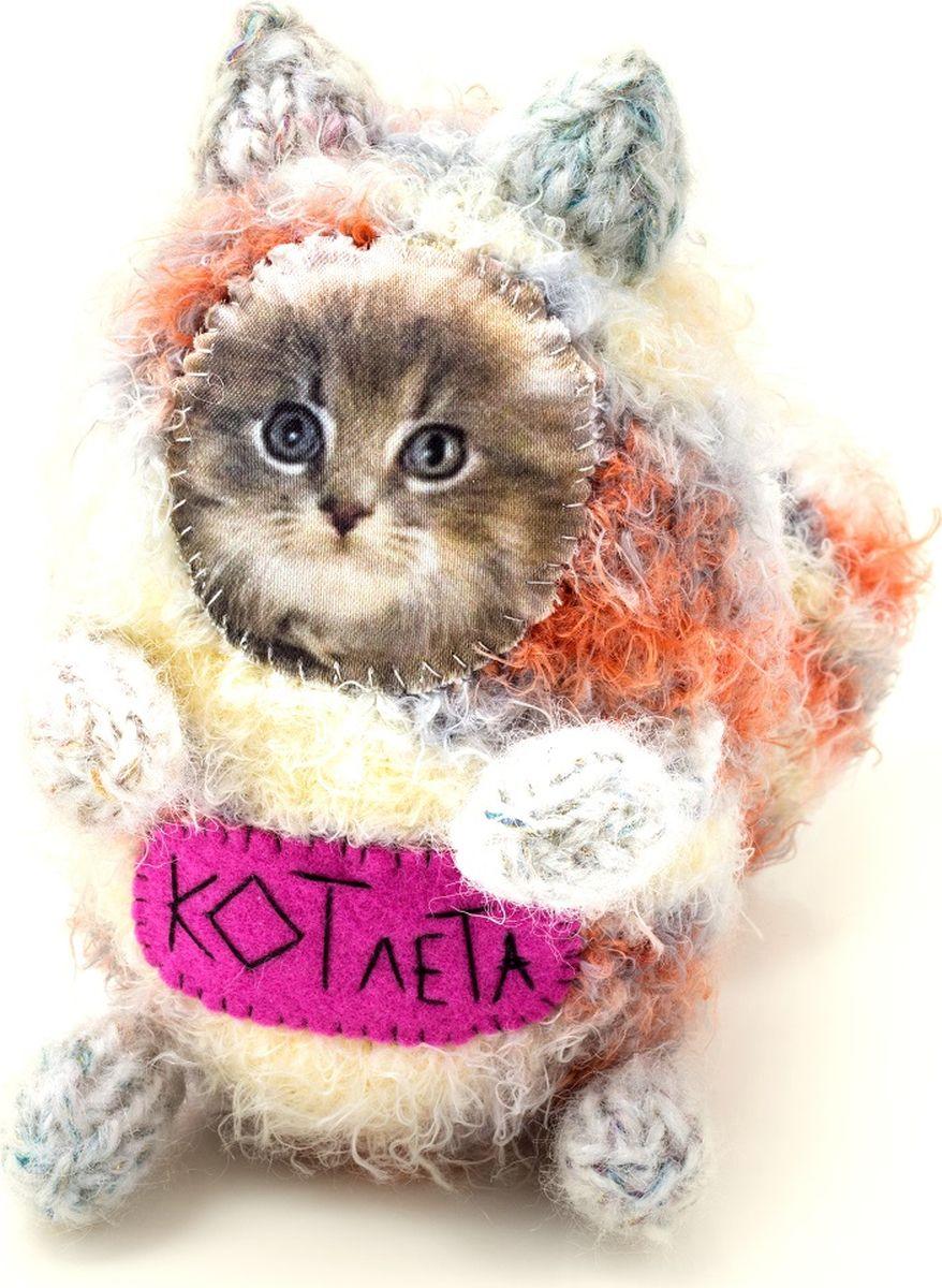 Мягкая игрушка Бюро находок  Котик. КОТлета , цвет: серый - Мягкие игрушки