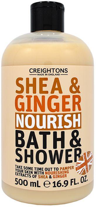 Creightons Гель для душа Питательные имбирь и масло Ши, 500 млCN6706Уделите время себе и побалуйте свою кожу с помощью питательных экстрактов ореха Ши и Имбиря.