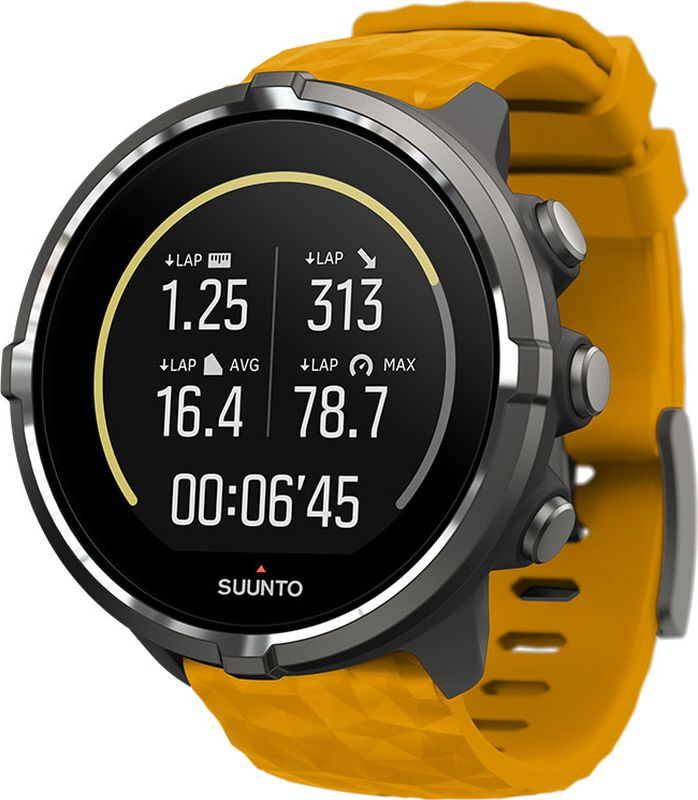 "Часы спортивные Suunto ""Spartan Sport Wrist Baro Amber"", цвет: серый"