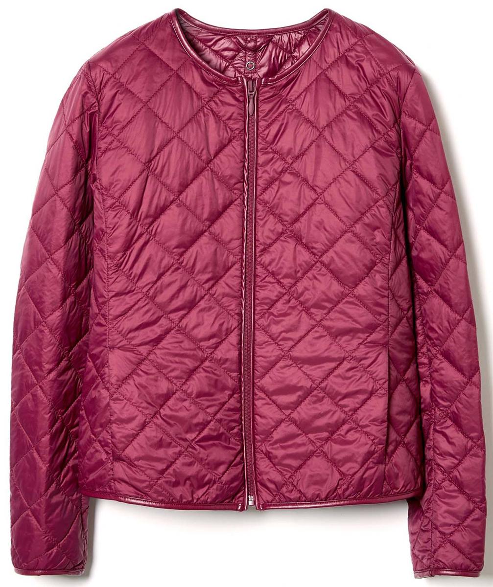 Куртка жен United Colors of Benetton, цвет: бордовый. 2BA253393_88Z. Размер 40 (42)2BA253393_88Z