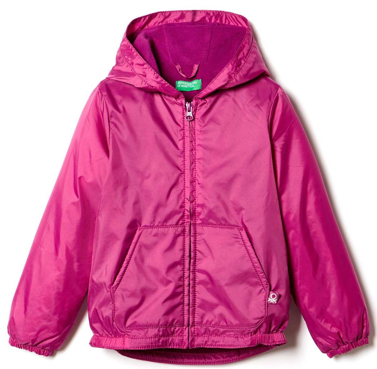 Куртка для девочки United Colors of Benetton, цвет: фиолетовый. 2BL553AS0_05V. Размер 100 united as one