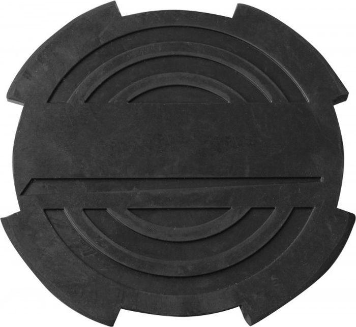 Опора резиновая Ombra, с отбортовкой, для подкатных домкратов, O-116 мм, Н-18 ммOHT1003