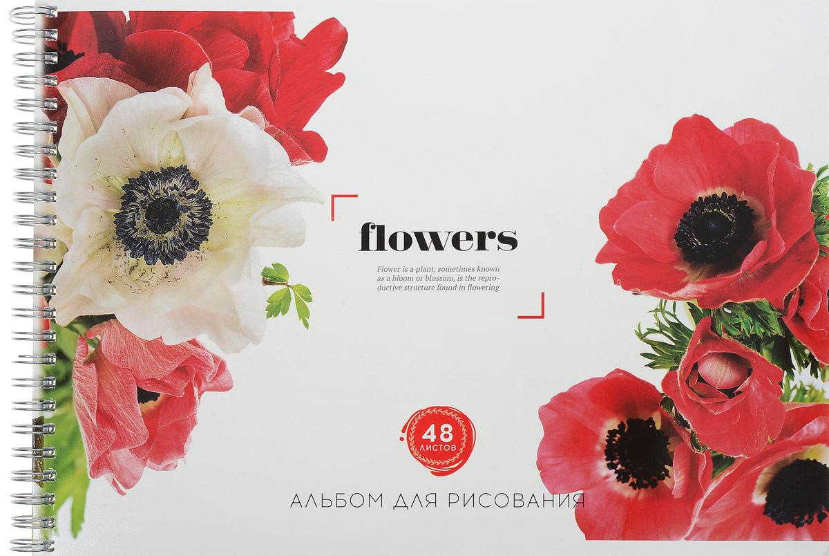 ArtSpace Альбом для рисования Цветы Flowers Маки 48 листовА48спТЛ_9201_макиАльбом для рисования ArtSpace Цветы. Flowers. Маки будетвдохновлять вашего ребенка на творческий процесс. Альбом изготовлен из белоснежной бумаги с яркой обложкой,оформленной изображением прекрасных цветов. Внутреннийблок альбома состоит из 48 листов, соединенных гребнем. Высокое качество бумаги позволяет рисовать в альбомеразличными типами красок, фломастерами, цветными ичернографитными карандашами, гелевыми ручками.Занимаясь изобразительным творчеством, ребенок тренируетмелкую моторику рук, становится более усидчивым испокойным.